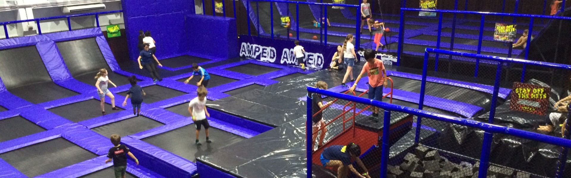 AMPED Trampoline Park, Malaysia, KL
